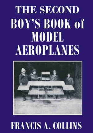 boys book of model airplanes (model aeroplanes) cover