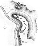 Ancient Monuments of the Mississippi Valley, Serpent Mound Plate